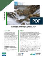 An Integrative Methodological Framework for coastal, river basin and aquifer management