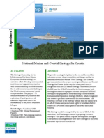 National Marine and Coastal Strategy for Croatia