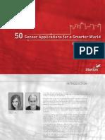 Libelium 50 Sensor Applications