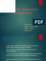 Docslide.us Variable Frequency Transformer Ppt