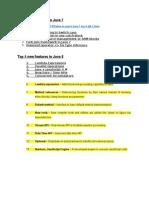 Java 7 feature