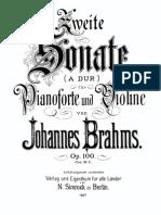 Brahms-Sonata2- Violin Piano Op 100