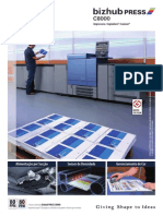 Catálogo Konica Minolta Bizhub Press c8000
