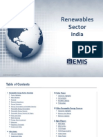 EMIS Insight - India Renewable Energy Sector Report