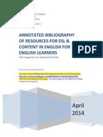 Esl Materials Bibliography