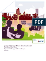 Methane Emissions from Abandoned Coal Mines Wsp Report
