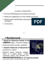 Reactive power market analysis
