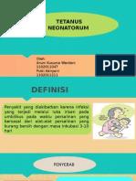 Tetanus Neonatorum -Pdenyuluhan