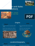 mayan and aztec civilizations