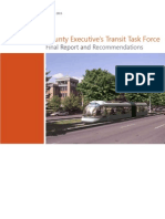 Montgomery County Transit Task Force Report