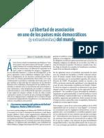 La libertad de asociación en uno de los países más democráticos (y extractivistas) del mundo