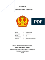dekomposisi termal karbonat
