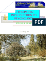 Lecture 11 PsyStressHealth