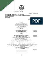 Belhaj v. Straw - Court of Appeal Judgment (30 Oct 2014)
