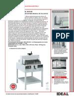 Catálogo Guilhotina IDEAL 4810-95 PRT