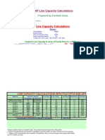 SMT LINE CAPACITY CALCULATIONS