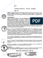 ACUERDO DE CONSEJO 011-2010/MDSA