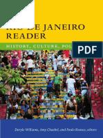 The Rio de Janeiro Reader, edited by Daryle Williams, Amy Chazkel, and Paulo Knauss