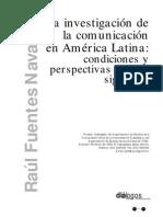 La investigacion de la comunicacion en A.L., Raul Fuentes