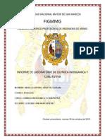 Informe de Cationes Del Primer Grupo