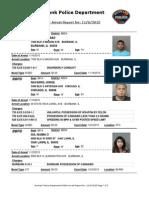 public arrest report for 6nov2015