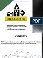 Apresentação - Diagrama Das Setas - Lucas Gonçalves