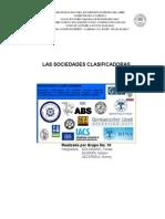 Las Sociedades Clasificadoras (SEGURO MARITIMO)