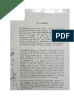 Declaracion Sebastián Rojas