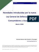 Ley Usuarios y Consumidor