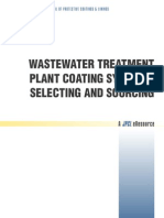 Wastewater Treatment Plant Coating Systems-selecting and Sourcing