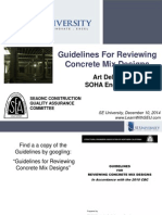 2014.12.10 - Guidelines for Reviewing Concrete Mix Designs
