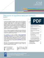 Focus - Découvrir Systeme Educatif Francais