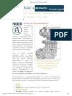 Glossário - ARQUITETURA CLÁSSICA