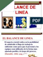 Balance de Linea Ucsm