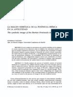 La imagen simbólica de la Peninsula ibérica en la antigüedad. PDF