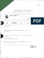 Presupuesto 2016 San Isidro - Tercera Parte