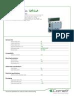 Comelit 1259A Data Sheet
