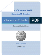 Results of Non-Audit Service 15-309 10272015 cb.pdf