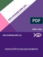LGBT Evangelism 101 Webinar