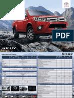 Ficha Técnica Hilux 2.8