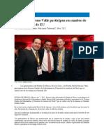 02-11-2015 Televisa - Eruviel y Moreno Valle Participan en Cumbre de Gobernadores de EU