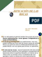 Clacificación de Las Rocas