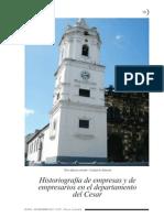 Historiografía de Empresas y de Empresarios en El Departamento Del Cesar