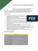 Programas de mantenimiento CMMS