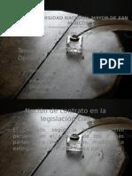 Contratos de Cesion y Opcion Minera