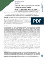 poliuretanos glicerina+PEG