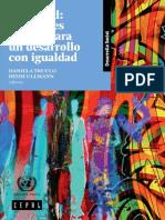 Juventud Realidades y Retos Para Un Desarrollo Con Igualdad