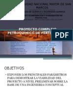 Proyecto Complejo Petroquimico de Fertilizantes