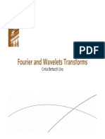 fourier and wavelet transform