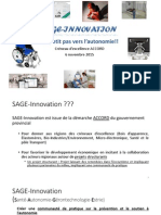 presentation sage innovation  6 novembre 2015